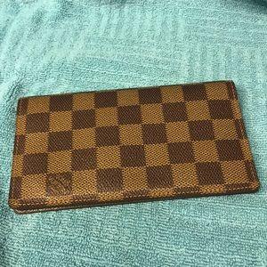 Louis Vuitton Agenda/checkbook cover